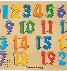 Melissa & Doug See and Hear Numbers Puzzle