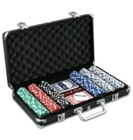 John Hansen 300 piece poker game set