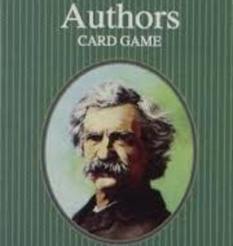 US Game System AUTHORS CARD GAME