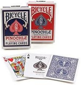 Bicycle Bicycle Pinochle Red