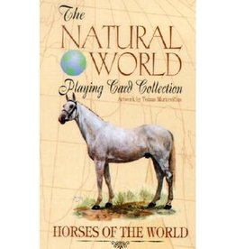 US Game System HORSES OF THE WORLD PLAYING CARDS