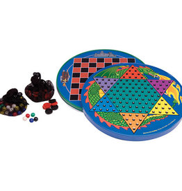 Schylling Chinese Checkers - Tin