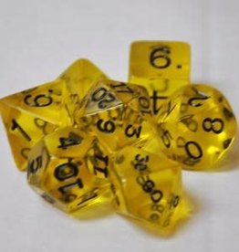Kaplow Games Polyhedral Dice 7 Piece Set Yellow