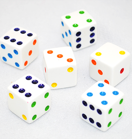 Kaplow Games Dice Rainbow Dot