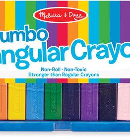 Melissa & Doug Melissa& Doug Jumbo Triangular Crayons (10 pc)