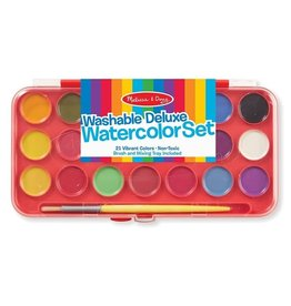 Melissa & Doug Melissa& Doug Washable Deluxe Watercolor Paint Set (21 colors)