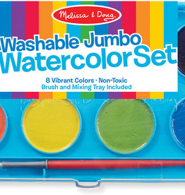 Melissa & Doug Melissa & Doug Washable Jumbo Watercolor Paint Set (8 colors)