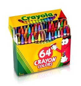 Crayola Crayola Crayon Colors 64 ct. - Hinged Top Box