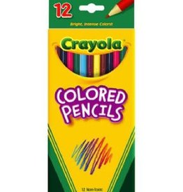 Crayola Crayola 12 ct. Long Colored Pencils
