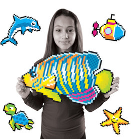 Fat Brain Toys Jixelz 1500 pc Set - Under the Sea