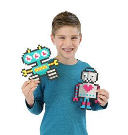 Fat Brain Toys Jixelz 700 pc Set - Roving Robots
