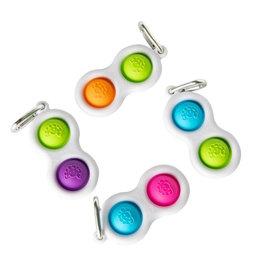 Fat Brain Toys Simpl Dimpl green purple