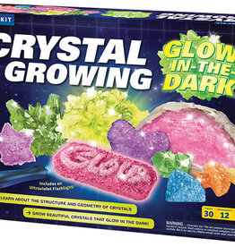 Thames & Kosmos Glow In The Dark Crystal Growing Experiment Kit