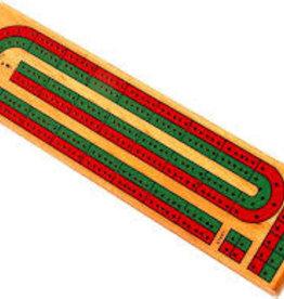"John Hansen 2 Track Cribbage (colors) 13"""
