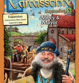 ZMan Games Carcassonne Exp 5 Abbey and Mayor