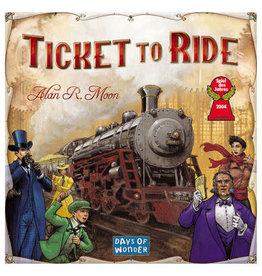Days of Wonder Games Ticket To Ride
