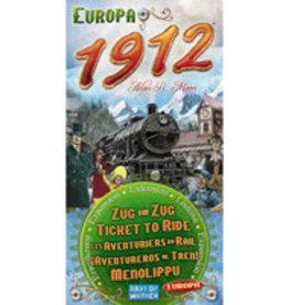Days of Wonder Games Ticket To Ride Europa 1912