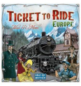 Days of Wonder Games Ticket To Ride Europe