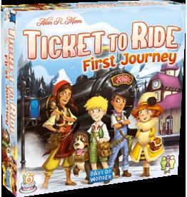 Days of Wonder Games Ticket To Ride First Journey Europe