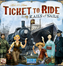 Days of Wonder Games Ticket To Ride Rails and Sails