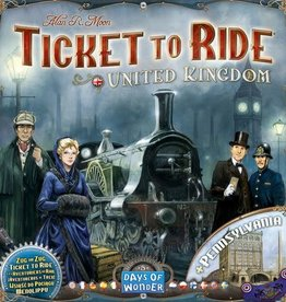 Days of Wonder Games Ticket To Ride United Kingdom
