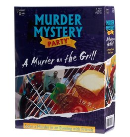 University Games A Murder on the Grill - Murder Mystery Party Game