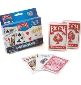 Bicycle Canasta Games 2-Pack