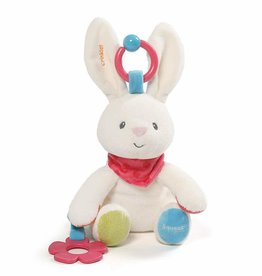 Gund GUND Baby Flora The Bunny Plush Activity Toy 8.5""