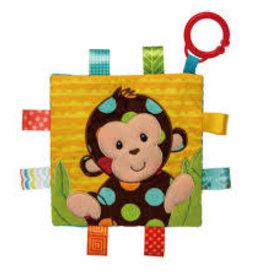 Mary Meyer Dazzle Dots Monkey Taggies