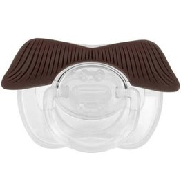 FCTRY Ladies Man Mustache Pacifier