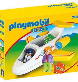 Playmobil 123 Airplane with Passenger
