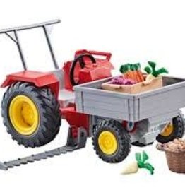 Playmobil Tractor with Cutter Bar