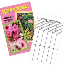 Springbok Jumbo Bridge Score Pad