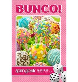 Springbok Jumbo Bunco Score Pad