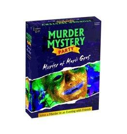 University Games Murder at Mardi Gras - Murder Mystery Party Game