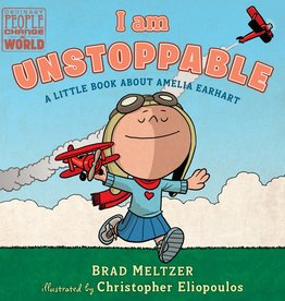 Random House i am unstoppable, A Little book about Amelia Earhart