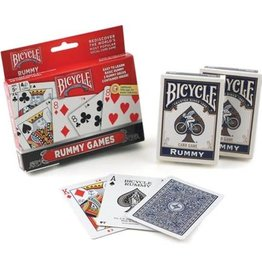 Bicycle Rummy Games 2-Pack