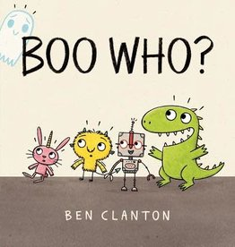 Candlewick Press Boo Who? -Clanton