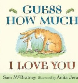 Candlewick Press Guess How Much I LOVE YOU BB book