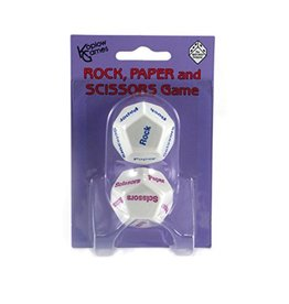 The Nice Dice Company Rock Paper Scissor Dice