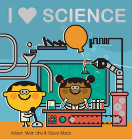 HMH Books I Heart Science by allison wortche