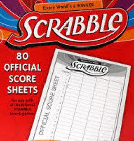 Hasbro scrabble score pads