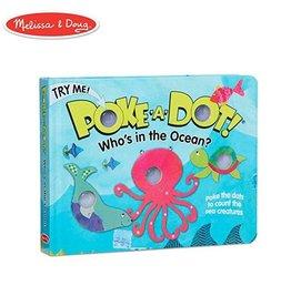 Melissa & Doug poke-a-dot book! who's in the ocean