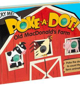 Melissa & Doug poke-a-dot book! old macdonald's farm
