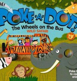 Melissa & Doug poke-a-dot book! wheels on the bus wild safari