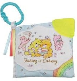 Kids Pereferred Care Bears - Soft Book w/Clip