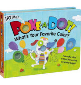 Melissa & Doug poke-a-dot book! what's your favorite color