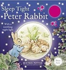 Beatrix Potter Sleep Tight Peter Rabbit w/night light book