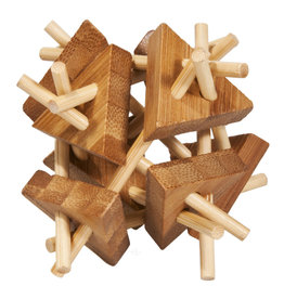 Fridolin IQ-Test Bamboo Puzzle 3 Stars