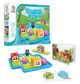 Smart Games Three Little Piggies Preschool Puzzle Game